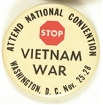 Stop the Vietnam War National Convention