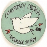 Chicago Conspiracy Trial Sept. 24, 1969, Jules Feiffer Design