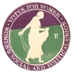 Scarce WSPU Votes for Women Stamp