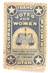 Votes for Women Western States Stamp