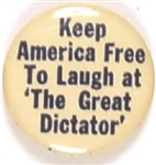 WW II Laugh at the Great Dictator