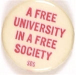 SDS Free University in a Free Society