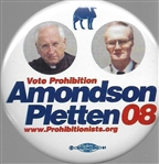 Amondson and Pletten Prohibition Party