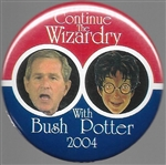 Bush, Potter Continue the Wizardry