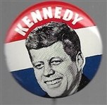 JFK Dark Blue 1960 Litho