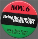 Bring the Brothers Home Anti War Pin
