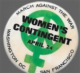 Women's Contingent March Against the War