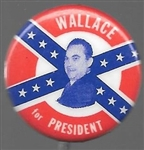 Wallace for President Confederate Battle Flag