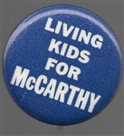 Living Kids for McCarthy