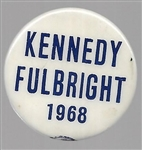Kennedy, Fulbright 1968