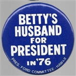 Bettys Husband for President, Hawaii Committee