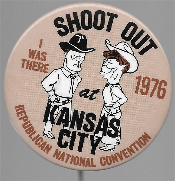 Reagan-Ford Shoot Out in Kansas City