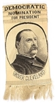 Grover Cleveland Woven Ribbon