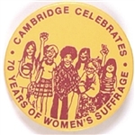 Cambridge Celebrates 70 Years of Womens Suffrage