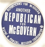 Missouri Another Republican for McGovern