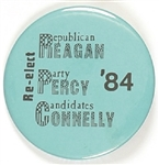 Reagan, Percy, Connelly Illinois Coattail
