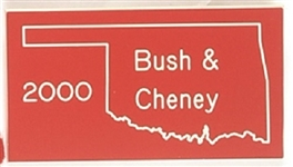Bush and Cheney Oklahoma 2000