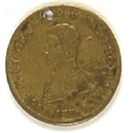 William Henry Harrison Hero of Tippecanoe Medal
