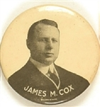 James M. Cox Scarce Head and Shoulders Celluloid