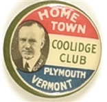 Home Town Coolidge Club, Plymouth, Vermont