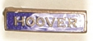Hoover Blue, Gold Enamel Pin