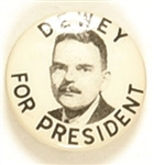 Dewey for President 1 Inch Picture Pin
