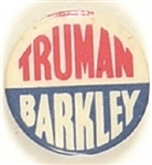 Truman, Barkley Red, White and Blue Celluloid