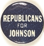 Republicans for Johnson