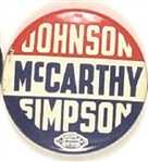 Johnson, McCarthy, Simpson Minnesota Coattail