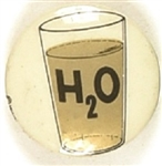 Goldwater H20 Glass of Water Celluloid