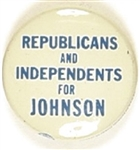 Republicans and Independents for Johnson