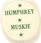 Humphrey and Muskie