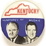 Humphrey-Muskie State Set, Kentucky