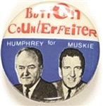 Button Collectors for Humphrey-Muskie