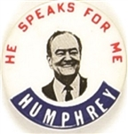 Humphrey He Speaks for Me