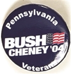 Bush, Cheney Pennsylvania Veterans