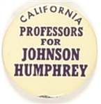 California Professors for Johnson, Humphrey