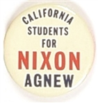 California Students for Nixon, Agnew