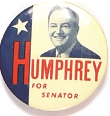 Humphrey for Senator Minnesota Celluloid