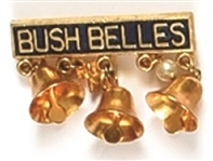 Bush Belles Pin With Bells