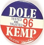 Dole, Kemp Silicon Valley
