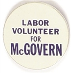 Labor Volunteer for McGovern