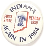 Reagan Indiana Again in 1984