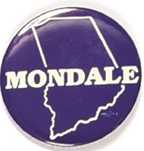 Walter Mondale Indiana