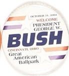 George W. Bush Cincinnati Visit
