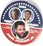 Kerry, Obama, Jackson Illinois Coattail
