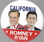 Romney-Ryan California Jugate