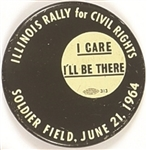 Illinois Rally for Civil Rights I Care I'll Be There