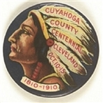 Cuyahoga County Centennial 1910 Ohio Pin