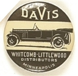 Davis Automobile, Minneapolis Ad Pin